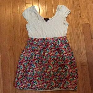 Forever 21 - multicolored short sleeve dress
